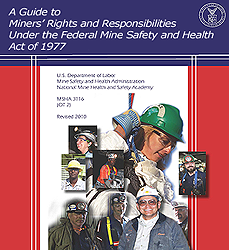 Get latest version of  A  Guide to  Miner's  Rights....